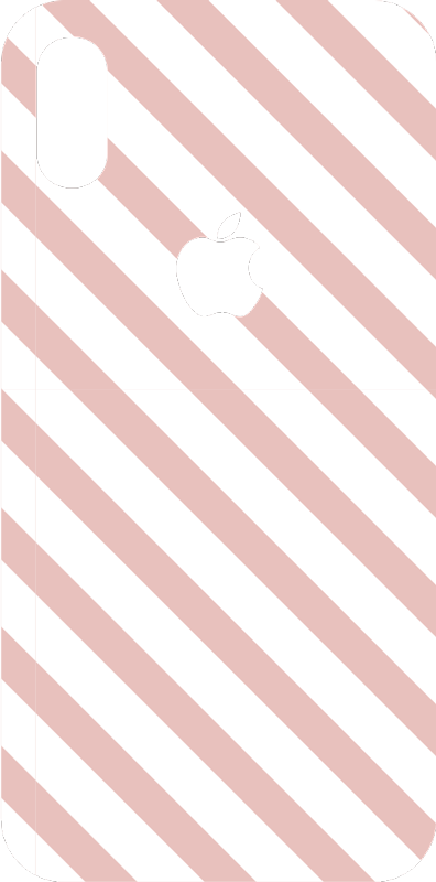 TenStickers. Striped patterns decoration iPhone sticker. This decoration vinyl made for iPhone represents some lines in two different colours, that go from one side to another on your iPhone.