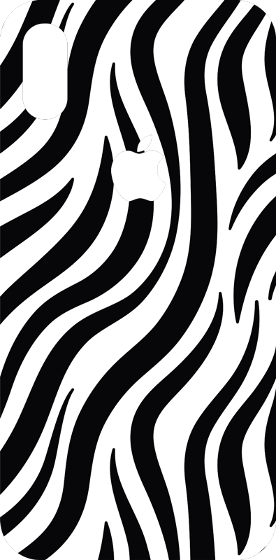 TenStickers. Zebra Texture iPhone Sticker. Decorate your iPhone with this fantastic phone sticker, allowing you to add zebra skin to your mobile! Sign up for 10% off.