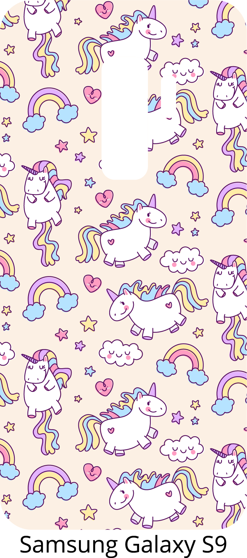 TenStickers. Unicorns set Phone Sticker. Charming Samsung stickers and for smartphones of other manufacturers. Give your daughter phone decorations with a unicorn. Sticker set of unicorns!