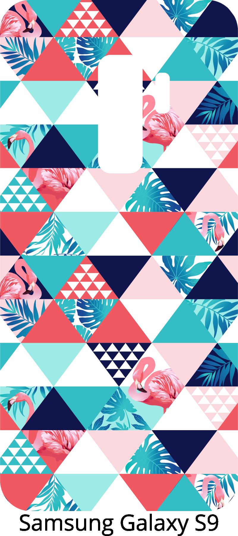 TenStickers. 热带和几何装饰手机贴纸. 三星和其他制造商的智能手机贴纸。用智能手机的原始装饰让你的朋友们惊叹不已。热带图案!