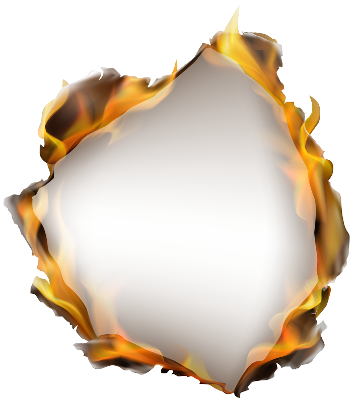 TenStickers. Fire hole visual effects wall decor. An original visual effect vinyl wall sticker with the design of a fire in a hole . Choose it in the best size option. Easy to apply.