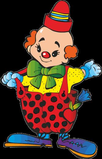 TenStickers. Dicker Clown Sticker. Geben Sie Ihrem Zuhause mit diesem tollen Wandaufkleber einen ganz neuen aufregenden Touch, der beeindruckt! 24-/48h-Express-Versand