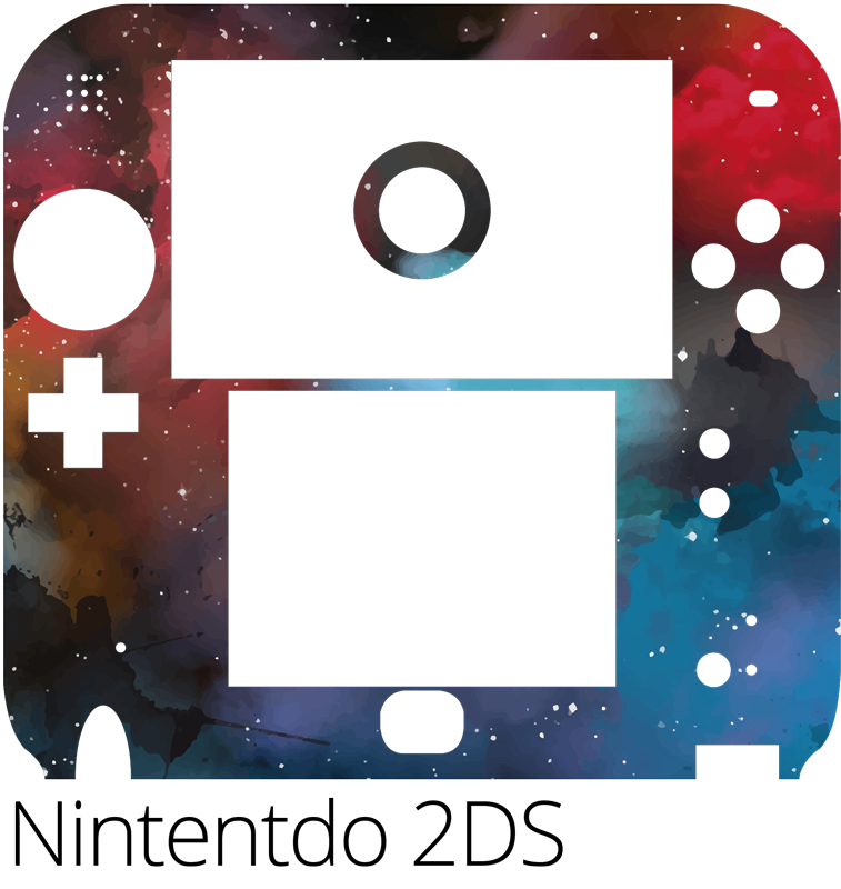 TenStickers. Cosmos (nintendo) nintendo skin dcecal. Cosmos Nintendo vinyl wrap sticker to decorate the surface of a desired game console. Chose the size that fits with your video game version.