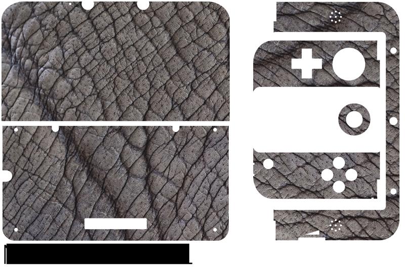 TenVinilo. Vinilo animal Piel elefante. Pegatina para decorar la superficie de tu Nintendo formada por un estampado simulando la piel de un elefante. Envío Express en 24/48h.