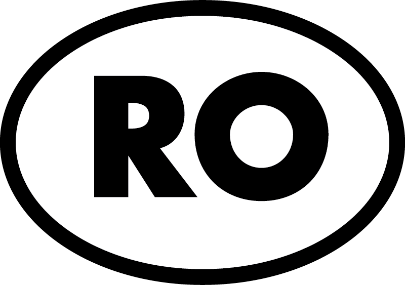TenStickers. Ro pentru masina in romania autocolant pentru masina. Utila masina decal, aratand tuturor celor care conduc in jurul vostru ca sunteti din romania! Disponibilă într-o varietate de culori și dimensiuni.
