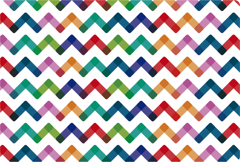 TenStickers. Rainbow Zigzag Trackpad Laptop Sticker. Brighten up your gadgets while not affecting your use of your trackpad with this amazing rainbow pattern laptop sticker. Worldwide delivery!