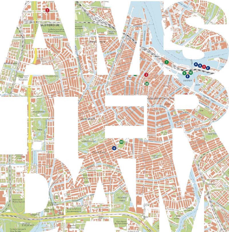 TenStickers. Muurstickers tienerkamer Amsterdam kaart. Een leuke kaart muursticker van Amsterdam! Beroemde straatjes met alle typsiche nederlandse straatnamen. Bekijk hier kaart Amsterdam muurstickers!