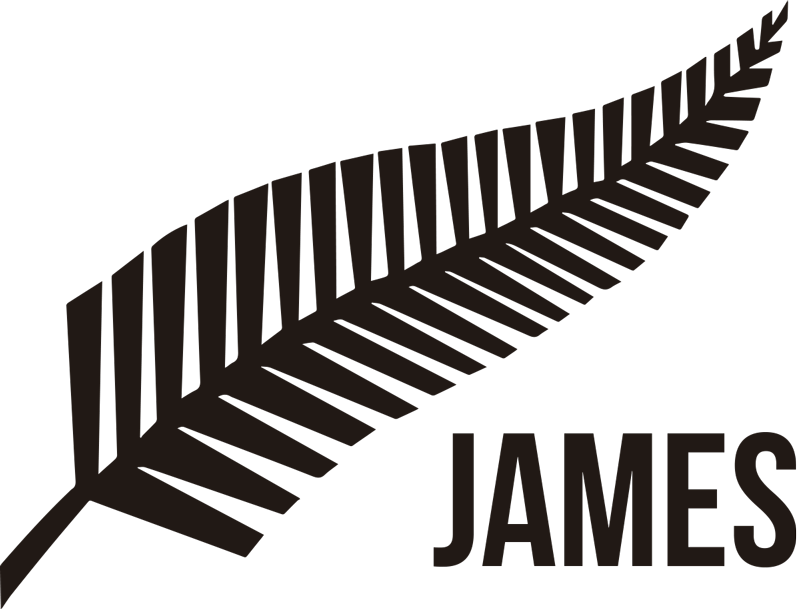 TenStickers. Personalised New Zealand Sticker. Show off your national pride, sporting support or both with this awesome personalised fern leaf wall sticker. Choose from over 50 colours!