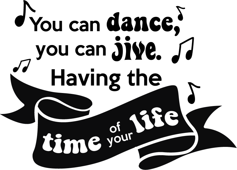 TenStickers. Abba dancing queen song lyric wall sticker. Big fan of Abba? This pop music wall sticker will have you singing the lyrics of their popular hit Dancing Queen in no time