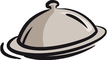 TenVinilo. Vinilo decorativo ilustración bandeja. Adhesivo de tapa para plato o fuente para una buena presentación de la comida. Sorprende con este original vinilo en tu cocina.
