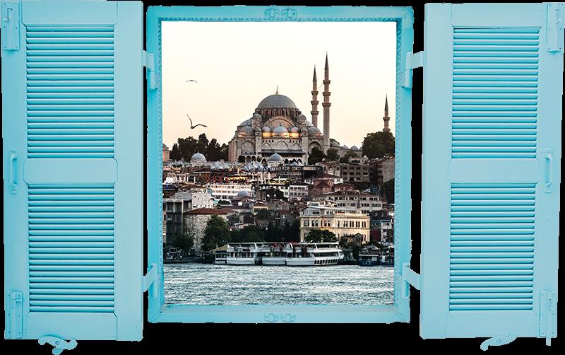 TenStickers. Türkiye manzara oturma odası duvar dekoru. Eğer türkiye manzarasının tadını çıkarırsanız, bu türkiye'nin bu manzara duvar çıkartması duvarlarınız için ideal duvar dekorasyonu