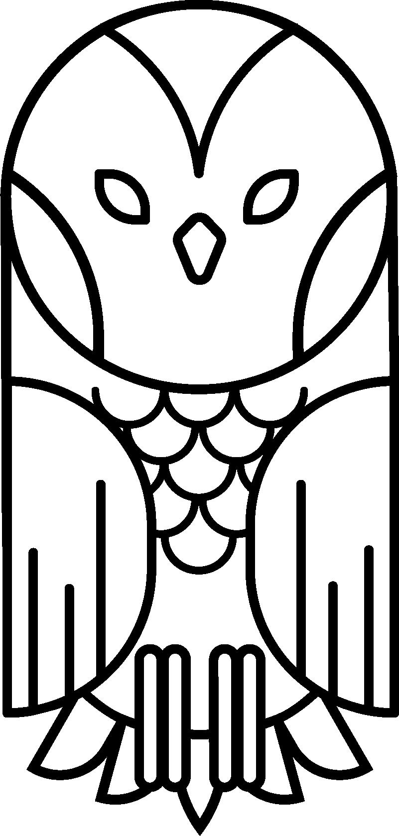 TenVinilo. Vinilo habitación juvenil búho geométrico. Pegatina minimalista silueteada formada por el dibujo de un búho creado partir de líneas y formas geométricas. Precios imbatibles.