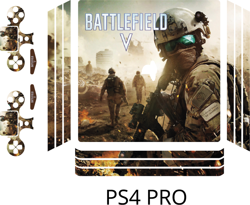 TenStickers. Battlefield ps4 sticker. An awesome battlefield skin sticker for everyone This game decoration is specially for the people who love to play battlefield.