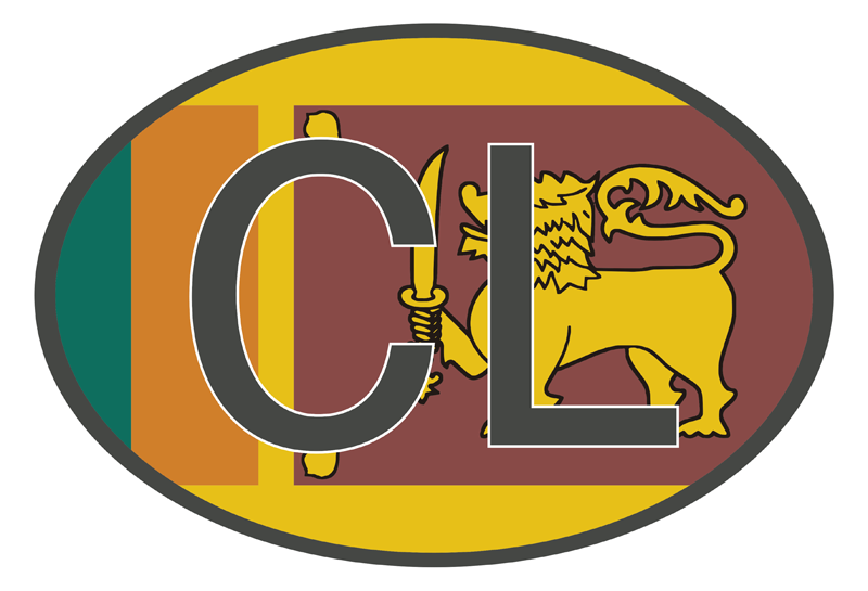 TenStickers. Vehicle Code Sri Lanka Drawing Sticker. Let others know exactly who you are and where you're from with this awesome international vehicle registration code car sticker. Worldwide delivery!