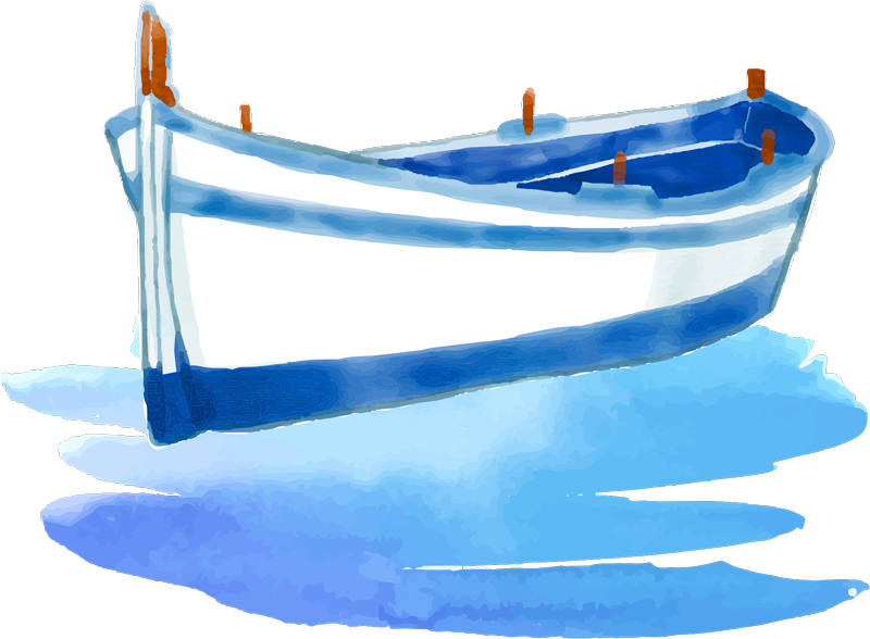 TenStickers. Watercolour Boat Home Wall Sticker. Give your room a more relaxing feel with this beautiful watercolour boat wall sticker. Free worldwide delivery available!