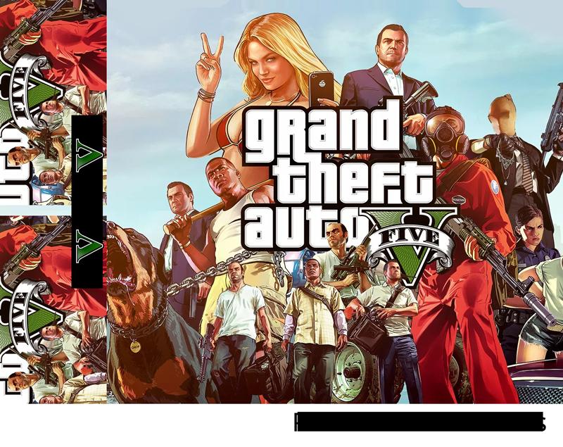 TenVinilo. Vinilo PS4 Grand Theft Auto. Pegatina para PS4 y controladores formada por el diseño de la caratula del videojuego Grand Theft Auto 5. Promociones Exclusivas vía e-mail.