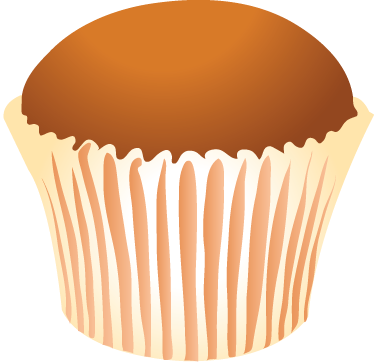 TenStickers. Magdalena Cupcake Decal. Cake wall sticker of a sweet, rich-tasting but light fluffy cupcake. Ideal for kitchens in homes or businesses such as cafes, bakeries and restaurants. Easy to apply and easily removable.