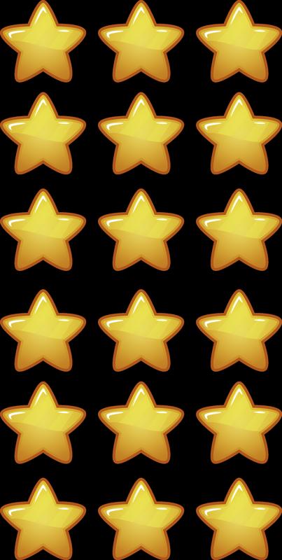 TENSTICKERS. 幾何学的な子供の星のスペースデカール. 子供の装飾空間に星を見つめる雰囲気を作成するための素晴らしい装飾の幾何学的なスペーススターのデカール。適用が簡単で、品質が良い。