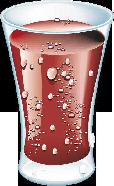 TenStickers. Kühlschrank Aufkleber Cola. Mit diesem Aufkleber eines erfrischenden Glases voll Cola dekorieren Sie Ihren Kühlschrank auf individuelle Art und Weise!