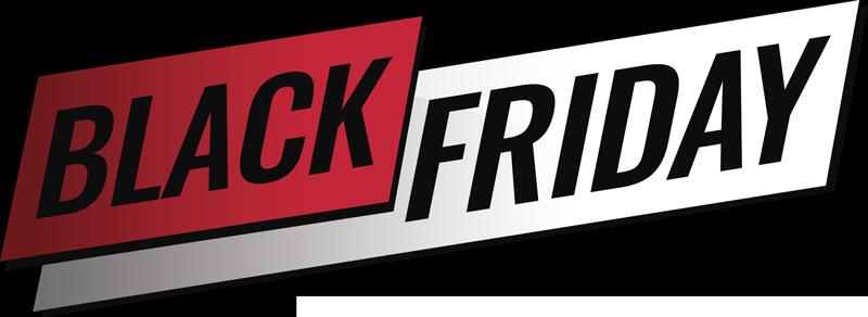 """TenVinilo. Vinilo texto Black Friday Moderno. Vinilo de """"Black Friday"""" formad por un estilo muy moderno y en color blanco, negro y rojo. Promociones Exclusivas vía e-mail."""