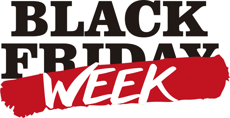 TenStickers. Black week  window sticker. Black Friday? That's so yesterday. Black week is the way to go! Decorate your business with a Black Friday sticker. Easy to apply!