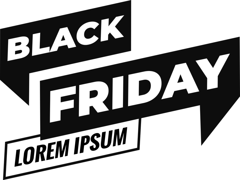 TenStickers. personalized black friday window sticker. Black Friday has to be one of the busiest times! Let your customers know about your sales with this custom retail sticker. Customise with name.