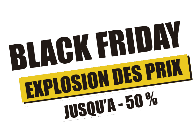 TenStickers. Sticker Texte Personnalisé black friday. Sticker vitrine Black Friday personnalisé. Ce format audacieux fera surement venir vos clients pour le plus grand événement de réduction de l'année!