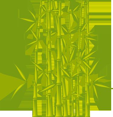 Dekoratives Wandtattoo Badezimmer Bambus