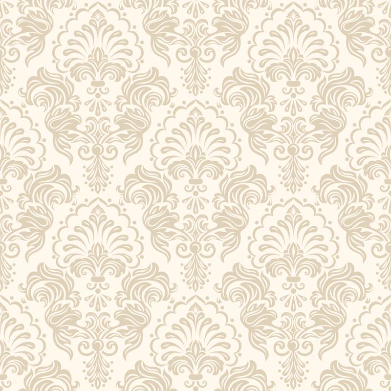 TenStickers. Blumen wasserzeichen Tapete aufkleber. Einfach anzubringender wandtattoo-aufkleber mit blumenwasserdruck in hübschem rosa pastell, um die wandoberfläche im haus zu bedecken. Geeignet für wohnzimmer.