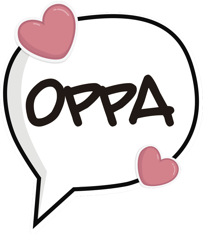 TenStickers. Oppa kpop music decal. If Kpop is your thing then why not consider buying this awesome music sticker. This Kpop wall sticker will make you think of your favourite oppas!