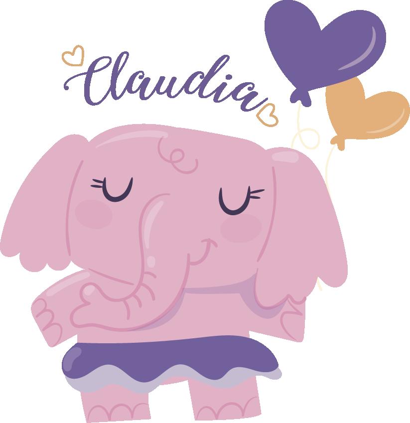 TenStickers. Autocolant copii elefant. Acest design simplu, dar creativ, este unul dintre autocolantele noastre de perete elefant pentru copii! Dă-i camerei copilului tău un nou decor de perete.