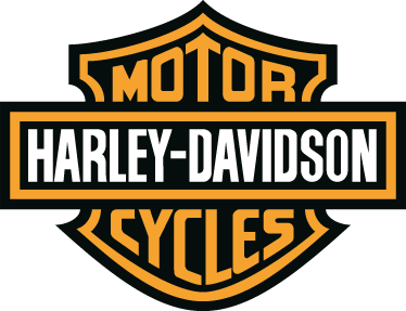 TenStickers. Harley Davidson Bike Decal. Motorcycle Stickers - The famous symbol of Harley. Ideal for fans of this legendary American brand.