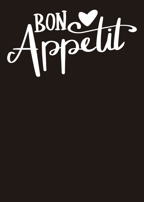 TenStickers. Sticker Mural bon appetit jolie. Laissez votre cuisine revitaliser cette année avec un magnifique ajout de notre dernière gamme de stickers pour cuisine!