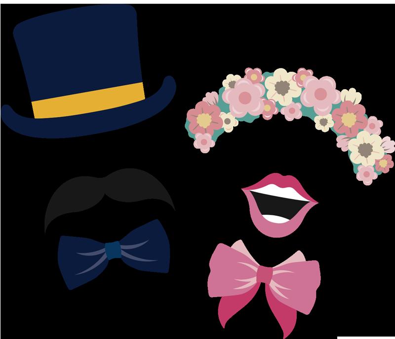 TenStickers. Autoaufkleber Hochzeit Masken. Schauen Sie doch bei unseren Hochzeitsaufklebern für das Auto vorbei, wie dieses humorvolle Masken-Design einer Braut und eines Bräutigams!