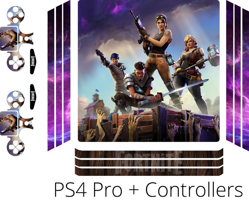 TenStickers. Fortnite ps4 sticker. If you love Fortnite and are looking to decorate your PS4, look no further. This fortnite PS4 sticker is exatly what you need. A superb gift.