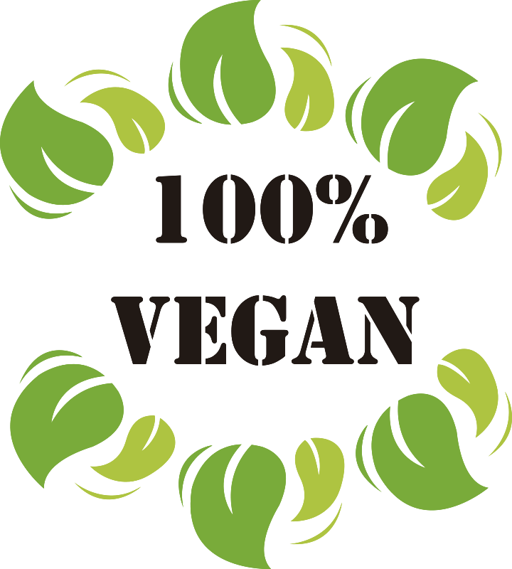 TenStickers. 100 per cent vegan wall sticker. If you're looking for an easy way to let everyone know about your dietary choices and restrictions then this vegan sticker is perfect for you