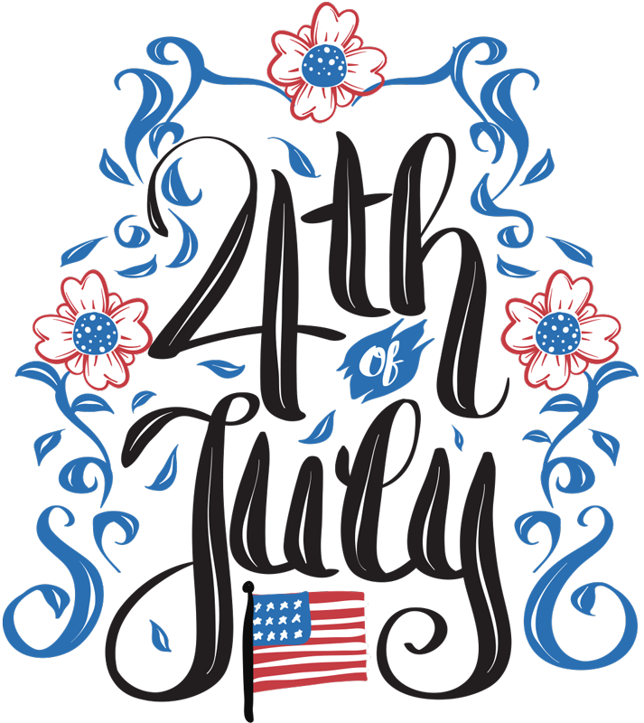 TenStickers. 4th of July holiday wall decal. Start your 4th of July celebrations off with a bang using this fantastic 4th of July sticker! Fantastic, high quality vinyl material!