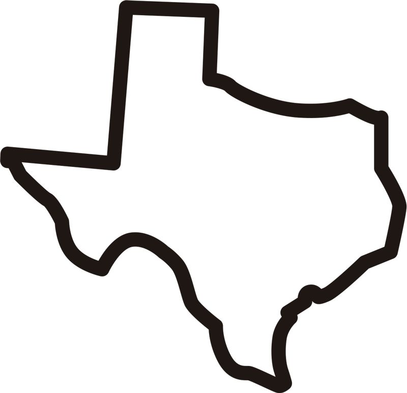 TenStickers. Texas outline wall decal. Howdy, are you are a superb Texas sticker? This is perfect for you! A fantastic design featuring the outline of Texas, ideal for cars, walls, widows