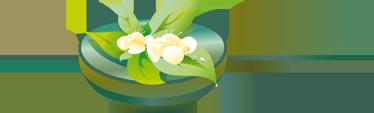 TenStickers. стикер ванной комнаты цветок дзен. креативный и необходимый дзен цветок переводная картинка. превосходный дизайн из нашей коллекции плиточных наклеек для украшения вашей ванной комнаты.