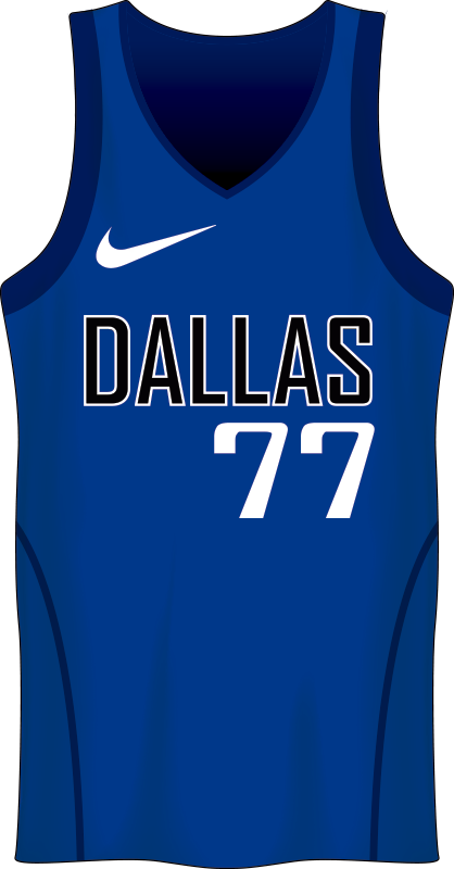 TenStickers. Luka Doncic Stencil basketball decal. A basket ball shirt wall sticker of famous player that you can apply in the teens room to inspire and make them happy bout the sport.  Easy to apply.