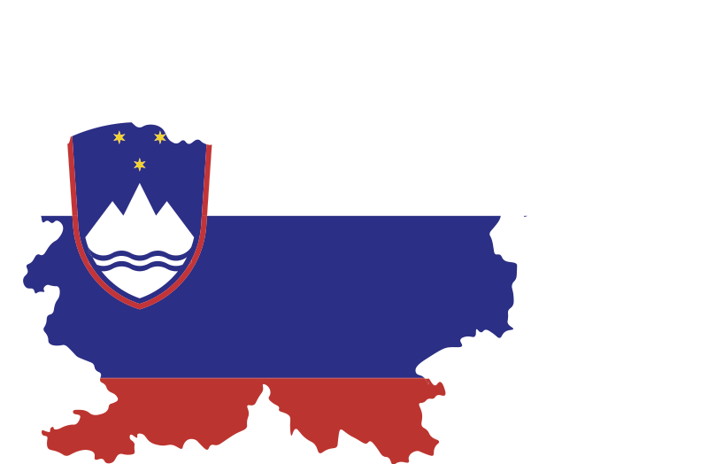 TenStickers. Nalepka slovenske zastave. Nalepka za steno slovenske zastave, s katero lahko okrasite sobo vašega najstnika in jo lahko uporabite tudi kjerkoli po želji. To je kakovostna zasnova.