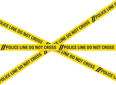 TenStickers. Police Line Do Not Cross Sticker. This police tape sticker is perfect for creating prohibited areas Can be a fun sticker for kids to put on their bedroom door! A kid´s bedroom door sticker that keeps other members of the family out the room .