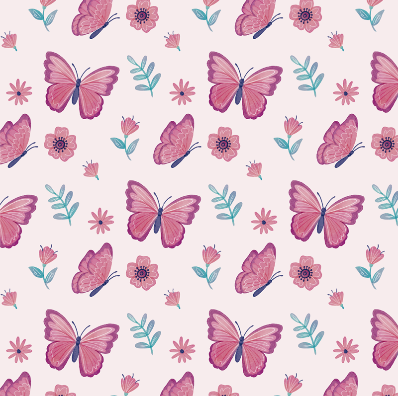 TenStickers. colorful butterflies window decal. Colourful butterflies window sticker design created in purple and a mix of other colours. This product will suit your child bedroom and easy to apply.