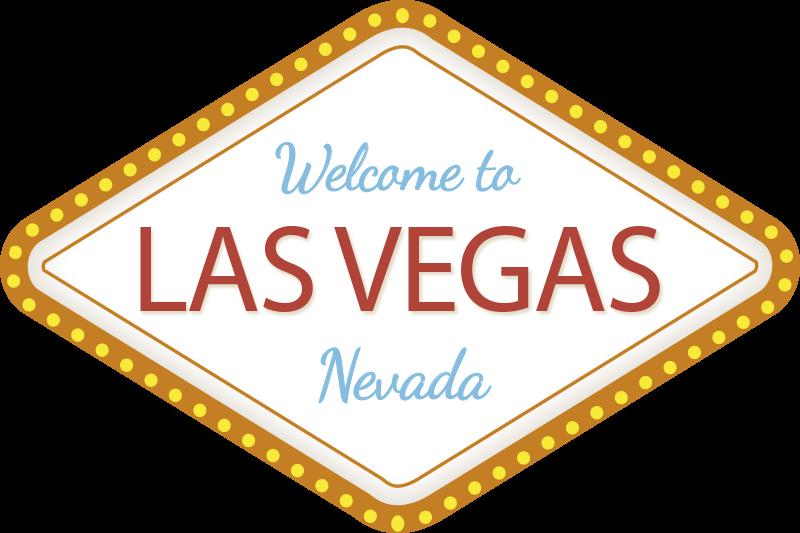 TenVinilo. Vinilo de Welcome to las Vegas. Fantástico vinilo adhesivo de Las Vegas con el que podrás decorar las paredes de tu casa de forma original. Fácil de colocar.