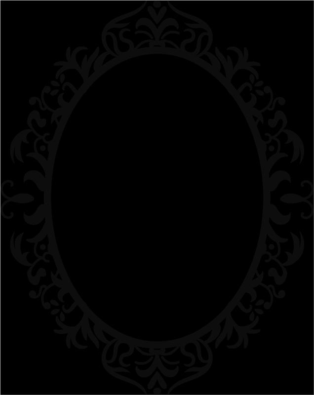 TENSTICKERS. 装飾ミラーエッジウォールステッカー. 美しさとユニークで明確に定義された鏡面の目的を果たすためだけに設計された白い装飾的なミラーエッジフレームステッカー。簡単に適用できます。