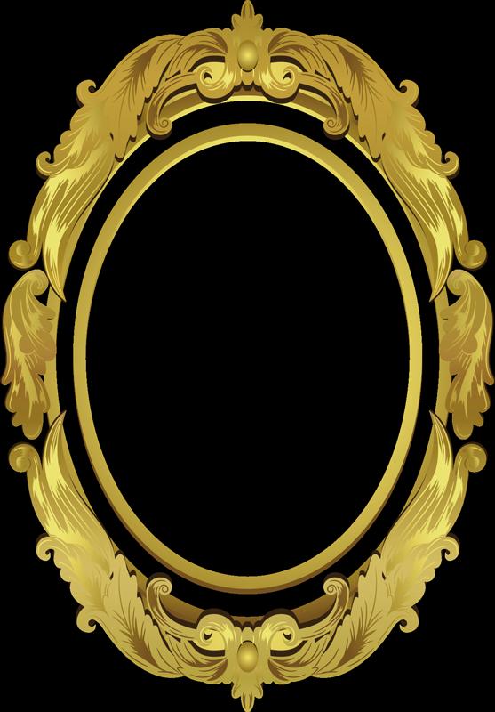 TenVinilo. Vinilo decorativo para espejo. Un vinilo decorativo amarilla para el marco del baño que creará una superficie bien definida para su espejo. Este diseño es de alta calidad y fácil de aplicar.