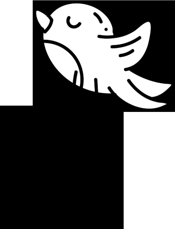 TenStickers. Ptica za stikalo. Ptica za stikalo stenske nalepke za vaš stikalni kotiček, ki daje edinstvenost, tako da je vaše stikalno območje ta izdelek je lahko v poljubni velikosti po vaši izbiri.