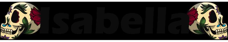 TenStickers. Cranio personalizzabile illustrazione sticker. Adesivo personalizzabile per bici con teschi per biciclette o veicoli. Questo prodotto mostra un teschio con il nome e puoi avere il tuo nome su di esso.