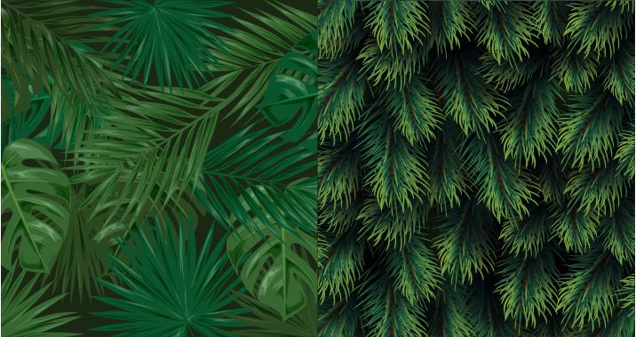 TenVinilo. Vinilo de muebles tono verde. Un vinilo para muebles de plantas verdes que puede usar para decorar la superficie de sus muebles en el hogar para despedirte de las superficies aburridas. Fácil de aplicar.