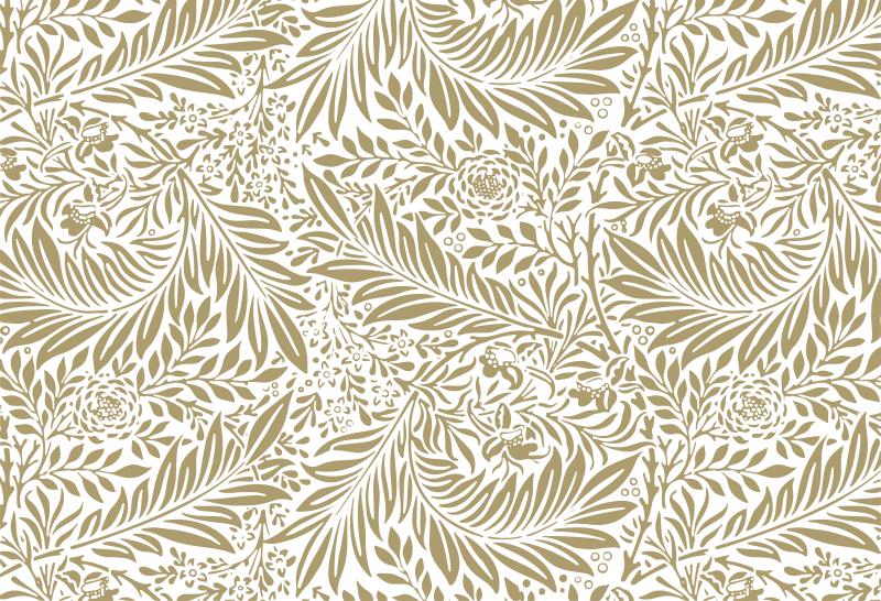 TenStickers. Naklejka na meble w stylu vintage kwiatowy wzór. Ozdób powierzchnię mebli tą naklejką z motywem kwiatowym. Idealna jako naklejka na szafy, szuflady czy biurka. Dostępna w dowolnym rozmiarze!